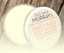 Sweet Shea Body Butter in natural Body Butter